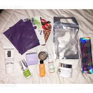 Bundle of BN unopened masks, moisturizers and more